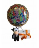Globo peluches y dulces